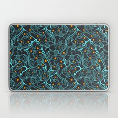 ethnic abstract seamless blue Laptop & iPad Skin