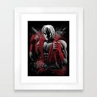 American Fighter Framed Art Print
