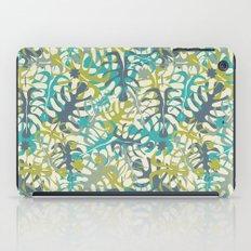 Tropical leaves iPad Case