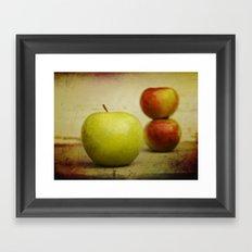 Apple pies Framed Art Print