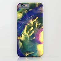 iPhone & iPod Case featuring Reach Out And Touch Faith by attosa