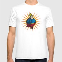 Louissa Mens Fitted Tee White SMALL