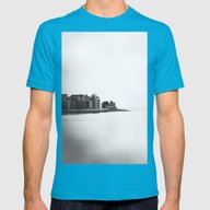Like A Dream Mens Fitted Tee Teal SMALL