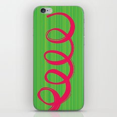 Curly Hair iPhone & iPod Skin