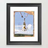 Tarot Series: The Moon Framed Art Print