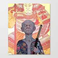 Oyabun Canvas Print