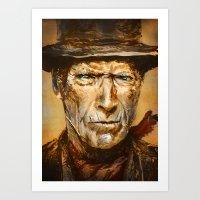 Gunslinger Art Print