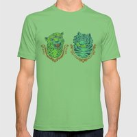 Stephan And Steve Mens Fitted Tee Grass SMALL