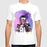 WTF Missy Elliott Mens Fitted Tee White SMALL