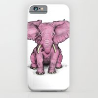 Pink Elephant and Roger iPhone 6 Slim Case