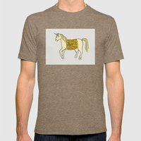Unicorn Mens Fitted Tee Tri-Coffee SMALL