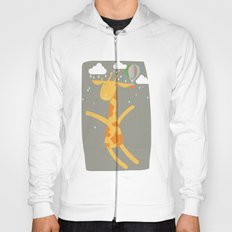 giraffe in the rain Hoody