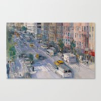 A View From New York Cit… Canvas Print