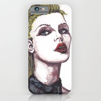 iPhone & iPod Case featuring SCARLET by Rachel E Murray
