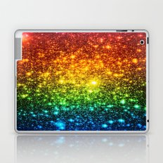 RainBoW Sparkle Stars Laptop & iPad Skin