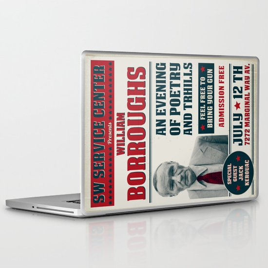 Borroughs Event Laptop & iPad Skin