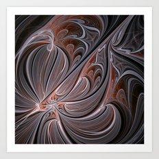 fractal design -90- Art Print
