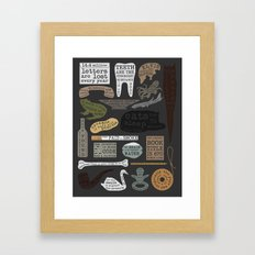 22 Facts - Useful Facts Framed Art Print
