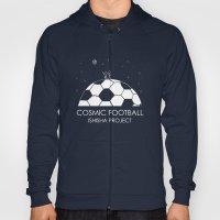 COSMIC FOOTBALL by ISHISHA PROJECT Hoody