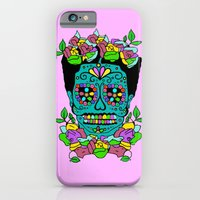 iPhone & iPod Case featuring FRIDA KAHLO by Leonardo Huatuco