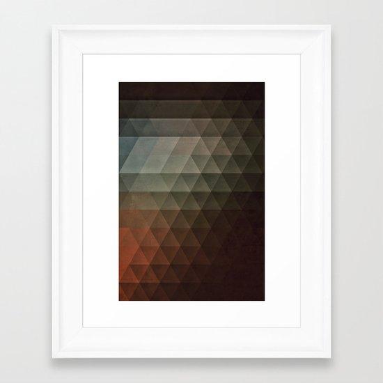 tryst lyss Framed Art Print