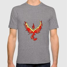 Team Valor Mens Fitted Tee Tri-Grey SMALL