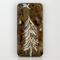 Dawn In A Burning Forest iPhone & iPod Skin