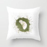 ArticFox Throw Pillow