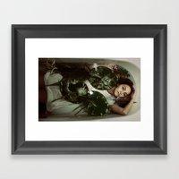 Disorientation Framed Art Print