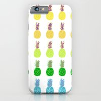 Pineapples lime crush iPhone 6 Slim Case