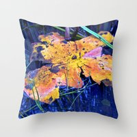 Summer Sky is touching Water Ground Throw Pillow