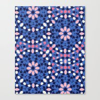 Rockin Morocco Tribal Ka… Canvas Print
