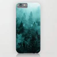 fractal iPhone & iPod Cases featuring Fractal Forest by Klara Acel