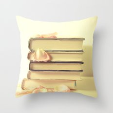 She Wrote Stories and Kept Them Quietly in Her Heart Throw Pillow