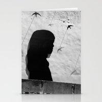 Girl in Córdoba Stationery Cards
