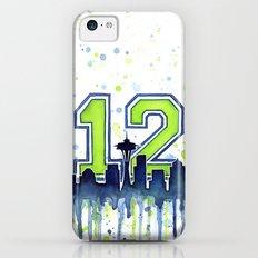 Seahawks 12th Man Fan Ar… iPhone 5c Slim Case