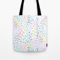 Rain in colors Tote Bag