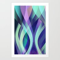 Abstract background G142 Art Print
