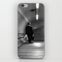 Empty London Underground… iPhone & iPod Skin