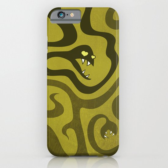Funny Cartoon Evil Snakes iPhone & iPod Case