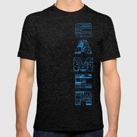 Gamer  Mens Fitted Tee Tri-Black SMALL