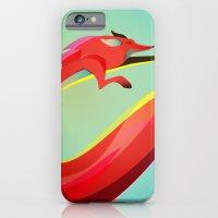 Fox Painting The Skyline iPhone 6 Slim Case