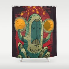 :::Unlikely hero::: Shower Curtain