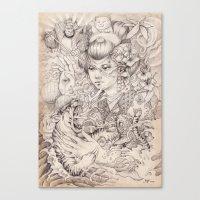 Irezumi Canvas Print