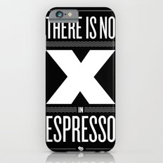 No X in Espresso – Dark Grey Slim Case iPhone 6s