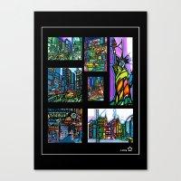 Audrey astorg New york city 12032012 Canvas Print