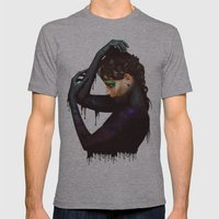 The Girl 2 Mens Fitted Tee Athletic Grey SMALL