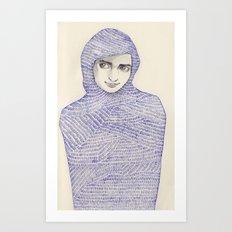 Abaya 01 Art Print