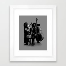 The Invisibles (On Grey) Framed Art Print