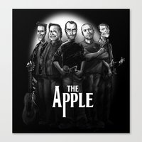 The Apple Band Canvas Print
